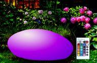 Ogród i lampki solarne